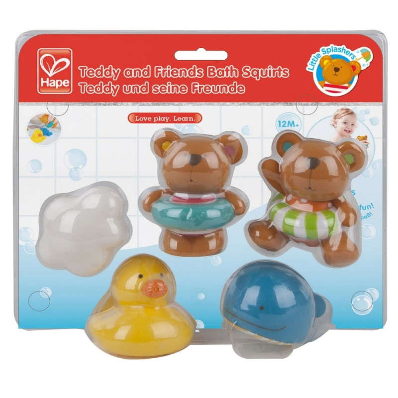 Bathing toys Teddy and Friends