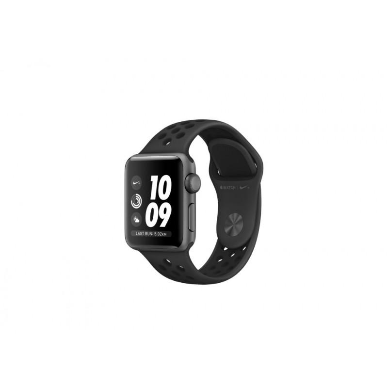 dbd9b97b Watch Nike+ Series 3 GPS, 42mm Space Grey Aluminium Case with  Anthracite/Black Nike