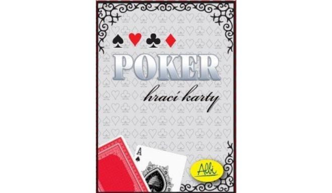 Albi mängukaardid Pokker, punane
