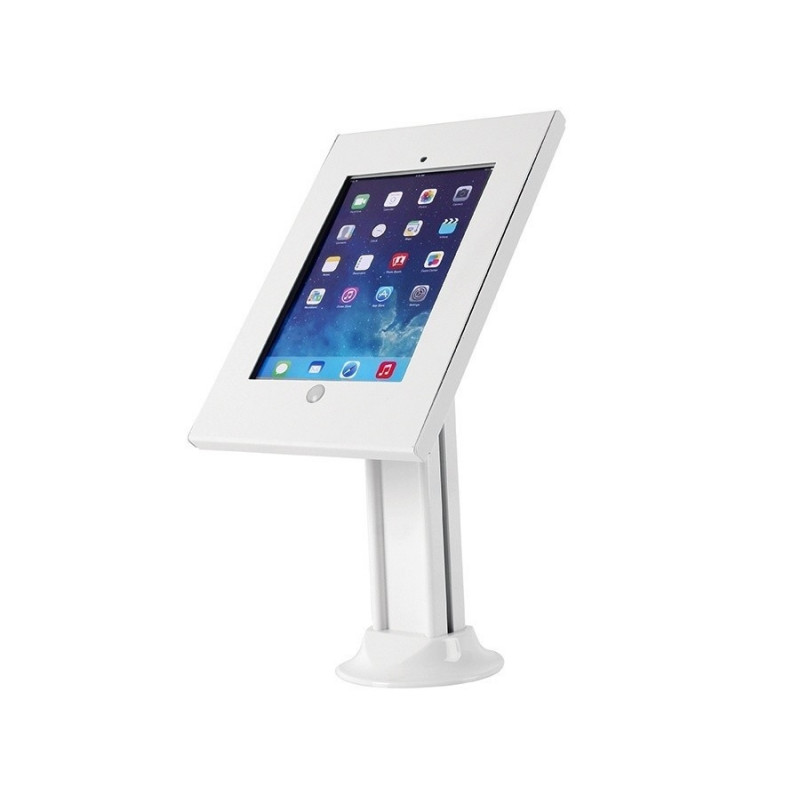 Rack holder for advertising tablet desktop with the lock, MC-677 iPad 2/3/4/Air/Air2