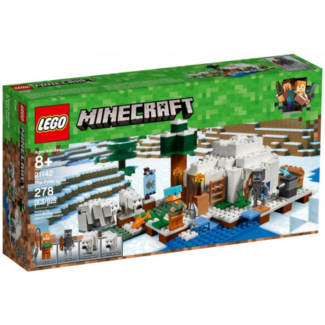 80ecba291a8 LEGO Minecraft Iglo of the polar Bear