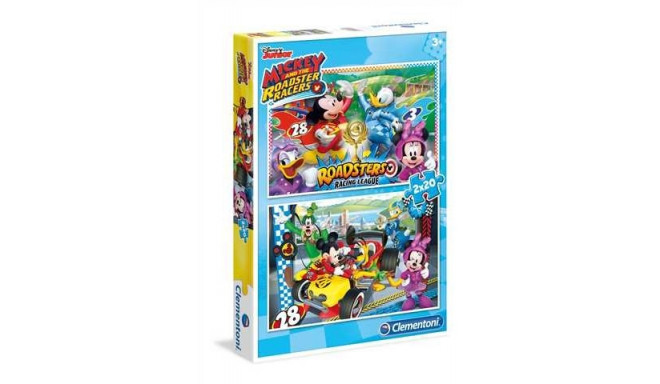 2x20 pcs Special Line Mickey and the Roadster Racers