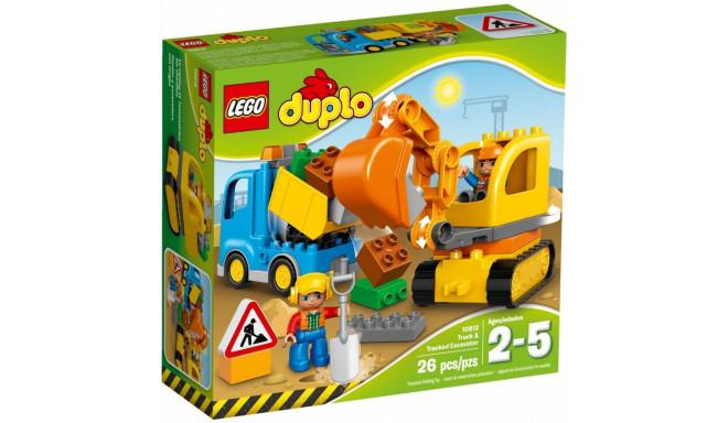 LEGO DUPLO mänguklotsid Truck & Tracket Excavator