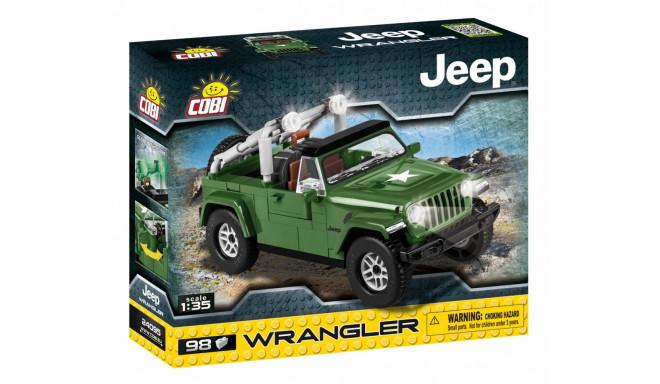 Blocks Small Army Jeep Wrangler Millitary