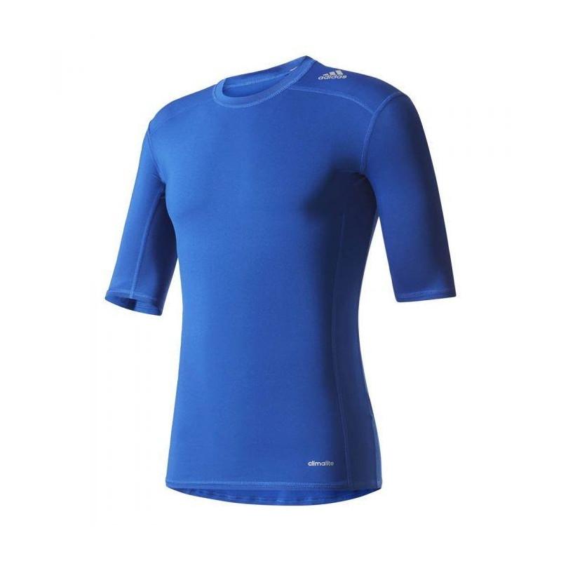 58559ac3 T-shirt compression Adidas Techfit Base Tee L (L; blue color) - T ...