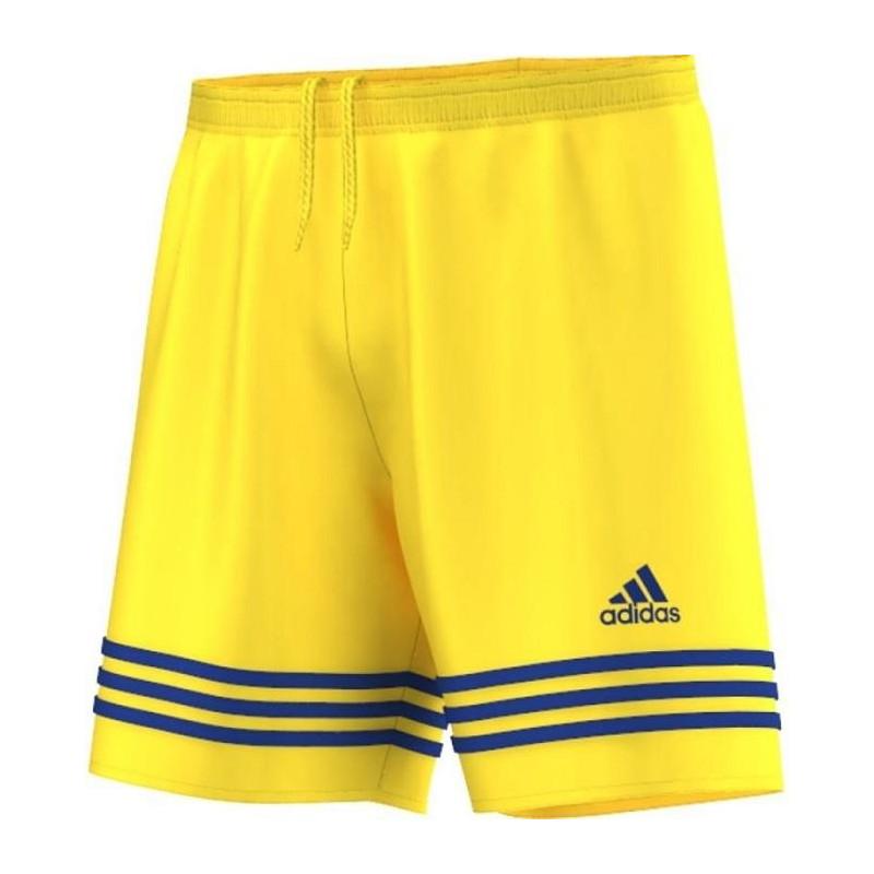 Shorts football junior Adidas Entrada 14 Junior (164; Polyester; yellow color)