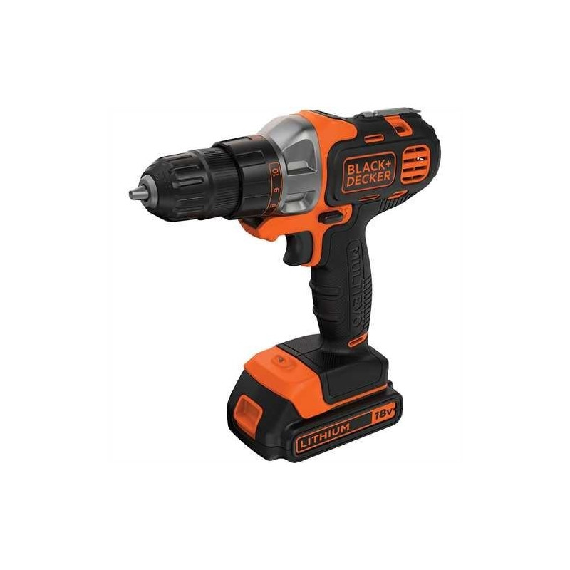 Drill and driver BLACK+DECKER Multievo MT218K-QW
