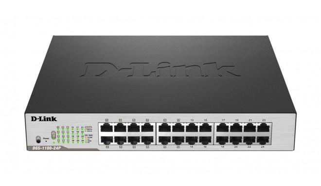 D-Link Switch DGS-1100-24P Web Management, Ra