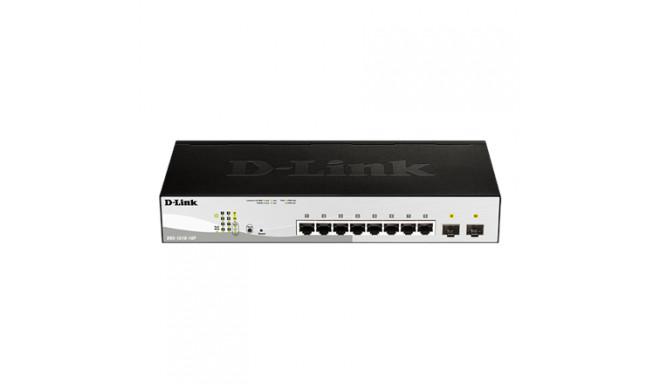 D-Link Switch DGS-1210-10P Web Management, Ra