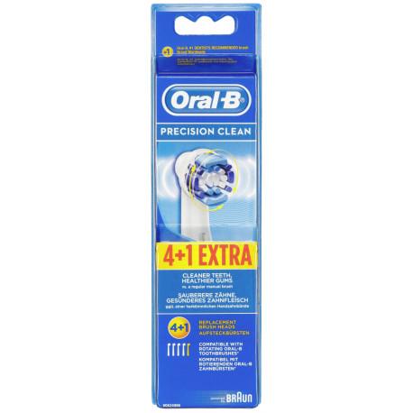 df88d35e59b Braun hambaharja otsikud Oral-B Precision Clean 4+1 - Hambaharjade tarvikud  - Photopoint