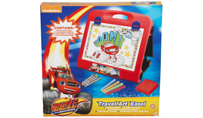 Blaze and The Monster Machines Travel Art Easel