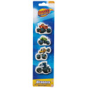 Blaze and The Monster Machines erasers - 4 pcs