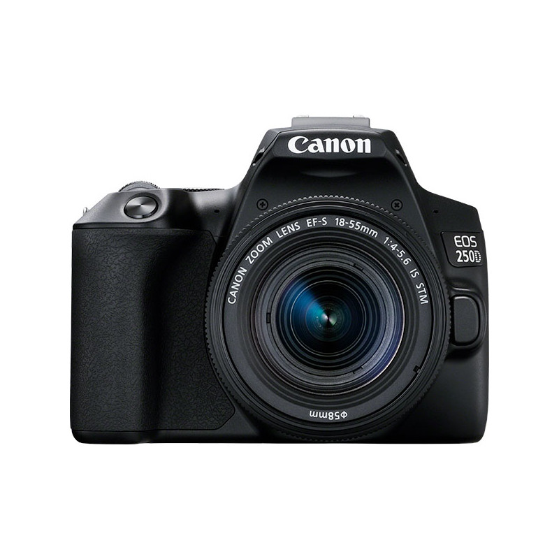 Canon EOS 250D + 18-55mm IS STM Kit, must