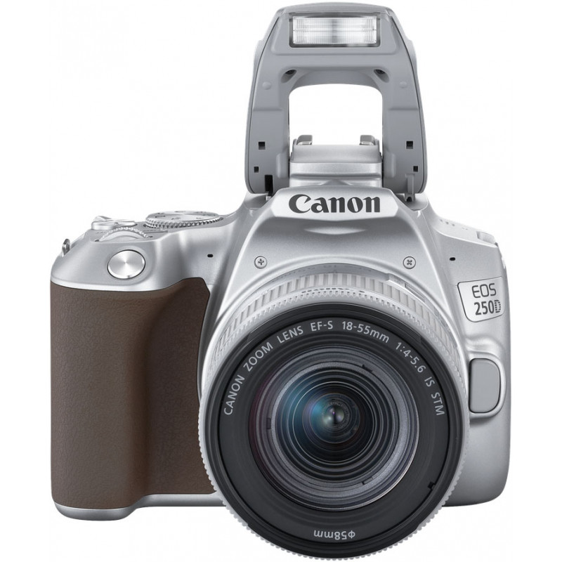 Canon EOS 250D + 18-55mm IS STM Kit, hõbedane