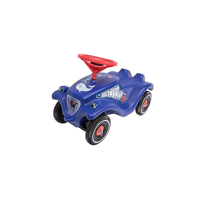 BIG Bobby Classic Ocean with polis - dark blue/red - vehicle