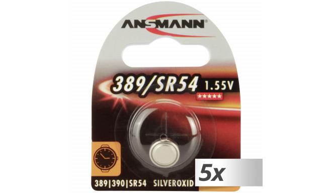 Ansmann patarei 389 390 Silveroxid SR54 5x1tk