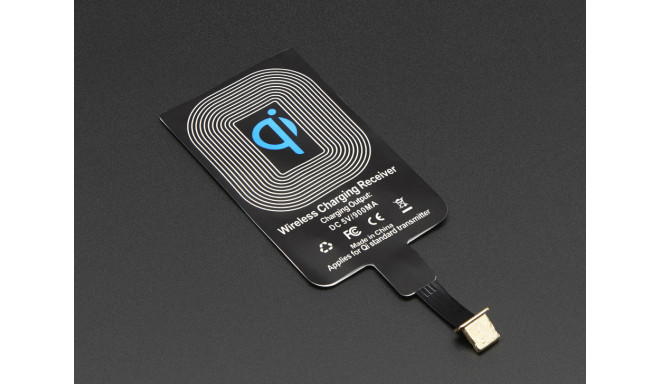 Adafruit Qi wireless charging module 20mm Lightning