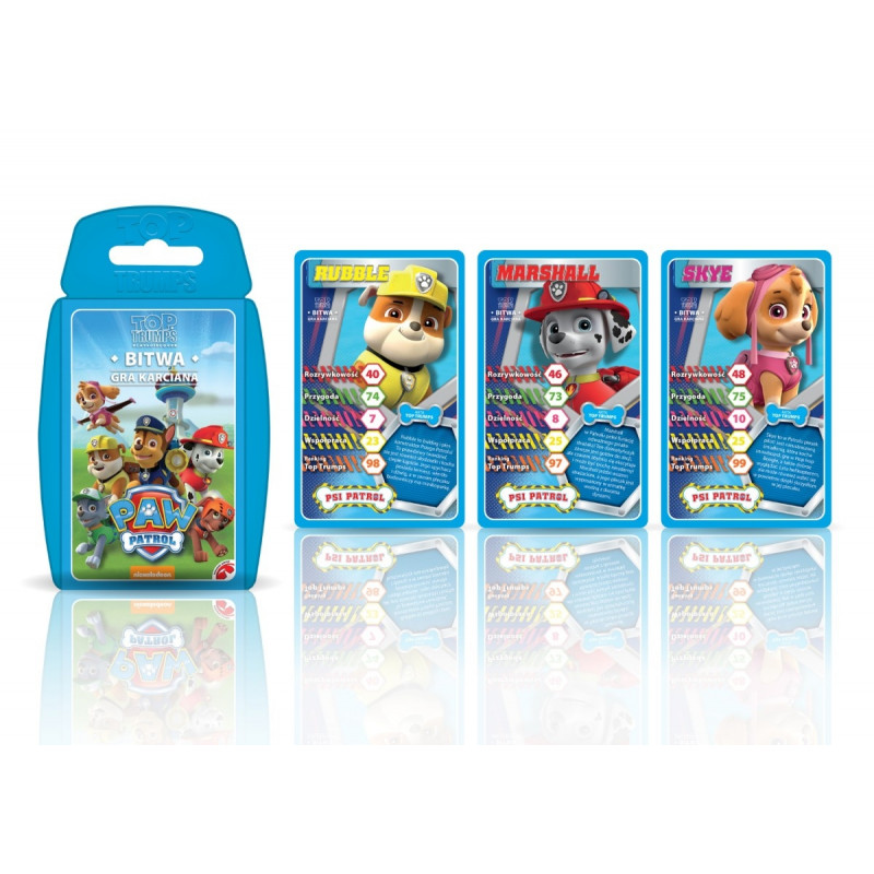 Card Game Top Trumps Paw Patrol