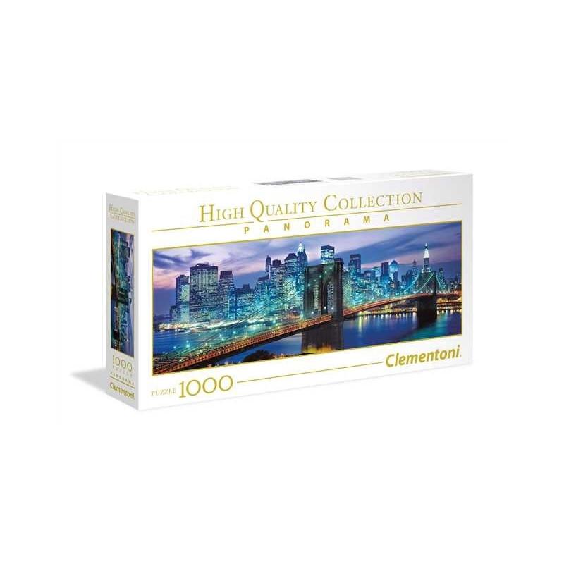 1000 elements Panorama High Quality New York Brooklyn bridge