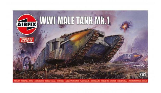 Airfix mudel WWI Male Tank