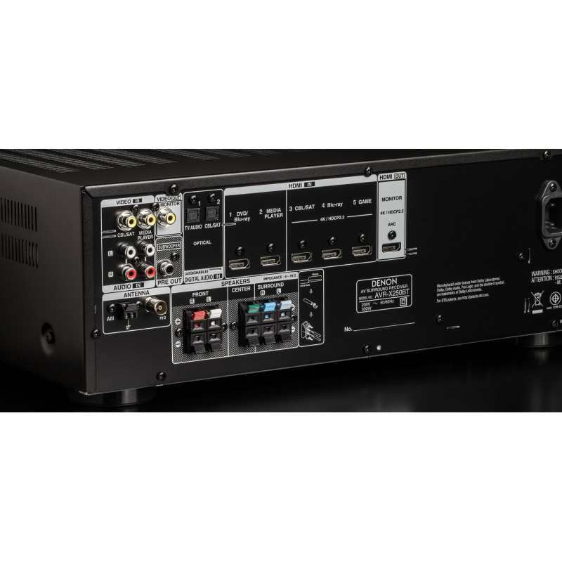 AV receiver Denon AVR-X250B (5.1)