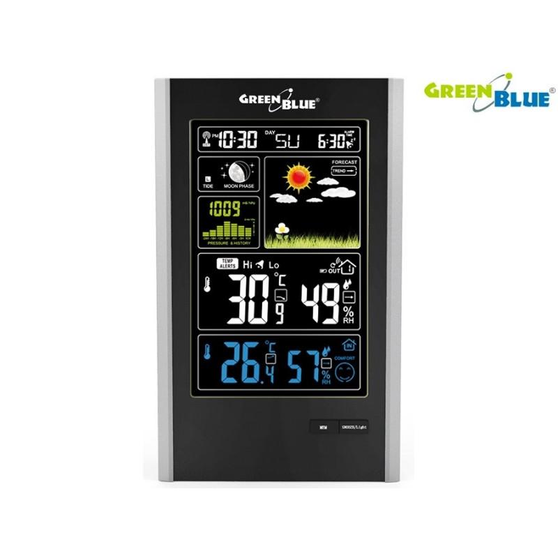 GreenBlue digitaalne ilmajaam Wireless USB GB520 DFC