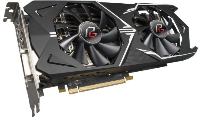 ASRock graphics card Phantom Gaming X Radeon RX580 8G OC 8GB