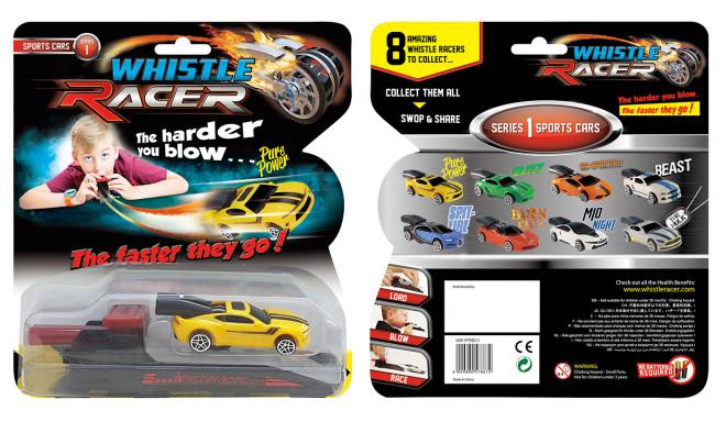 Puhutav võidusõiduauto ''Whistle Racer'' star