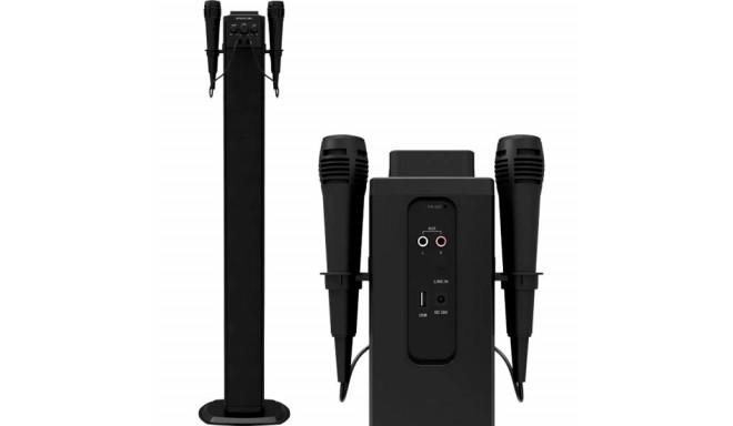Bluetooth Sound Tower BRIGMTON BTW-40K 40W USB Black