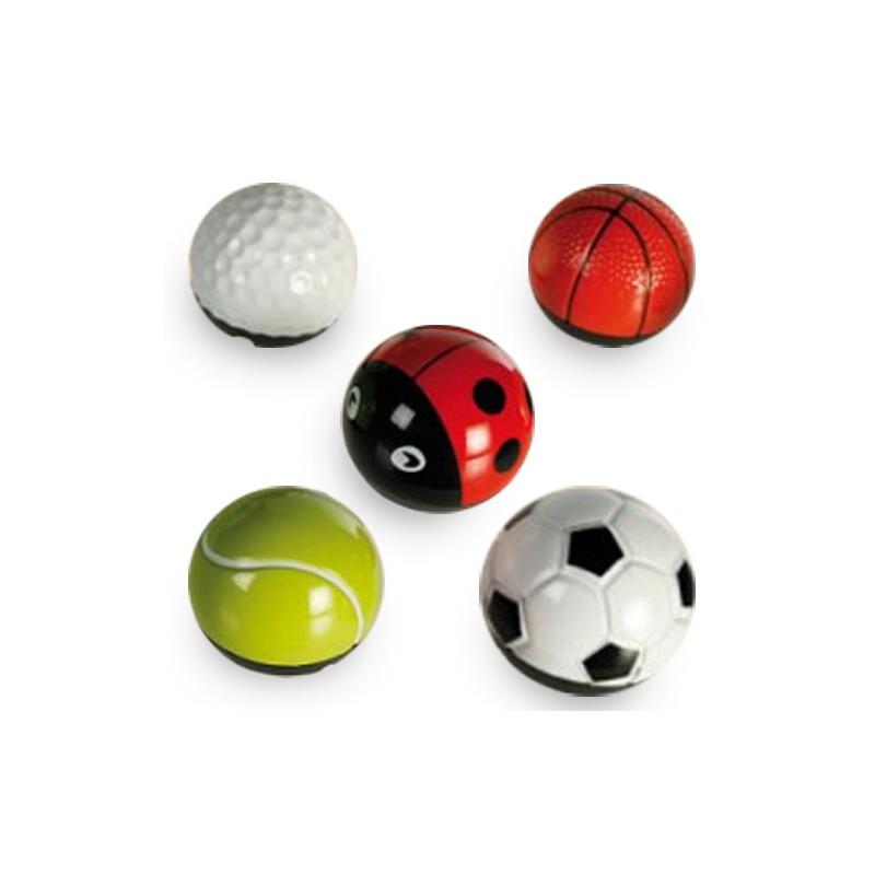 Ball & Bug Metallist Pall Friktsiooniga (Lepatriinu)