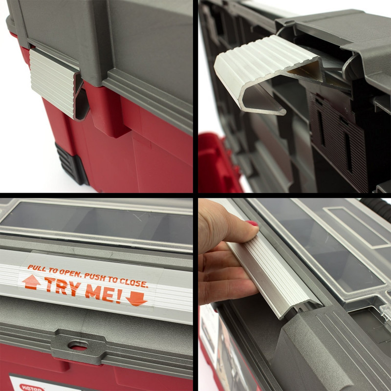 Keter Tool Box MasterPro Power Latch 26