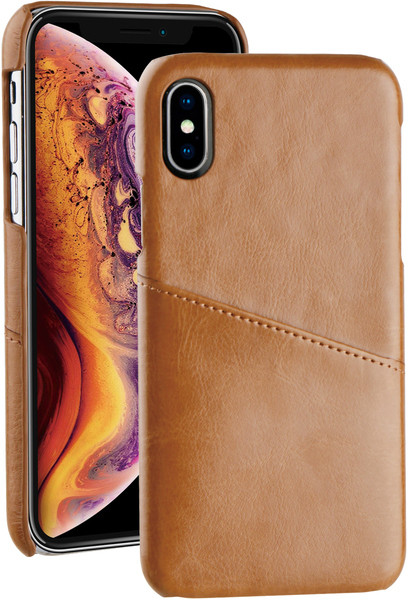 Vivanco kaitseümbris iPhone X/XS, pruun (60037)