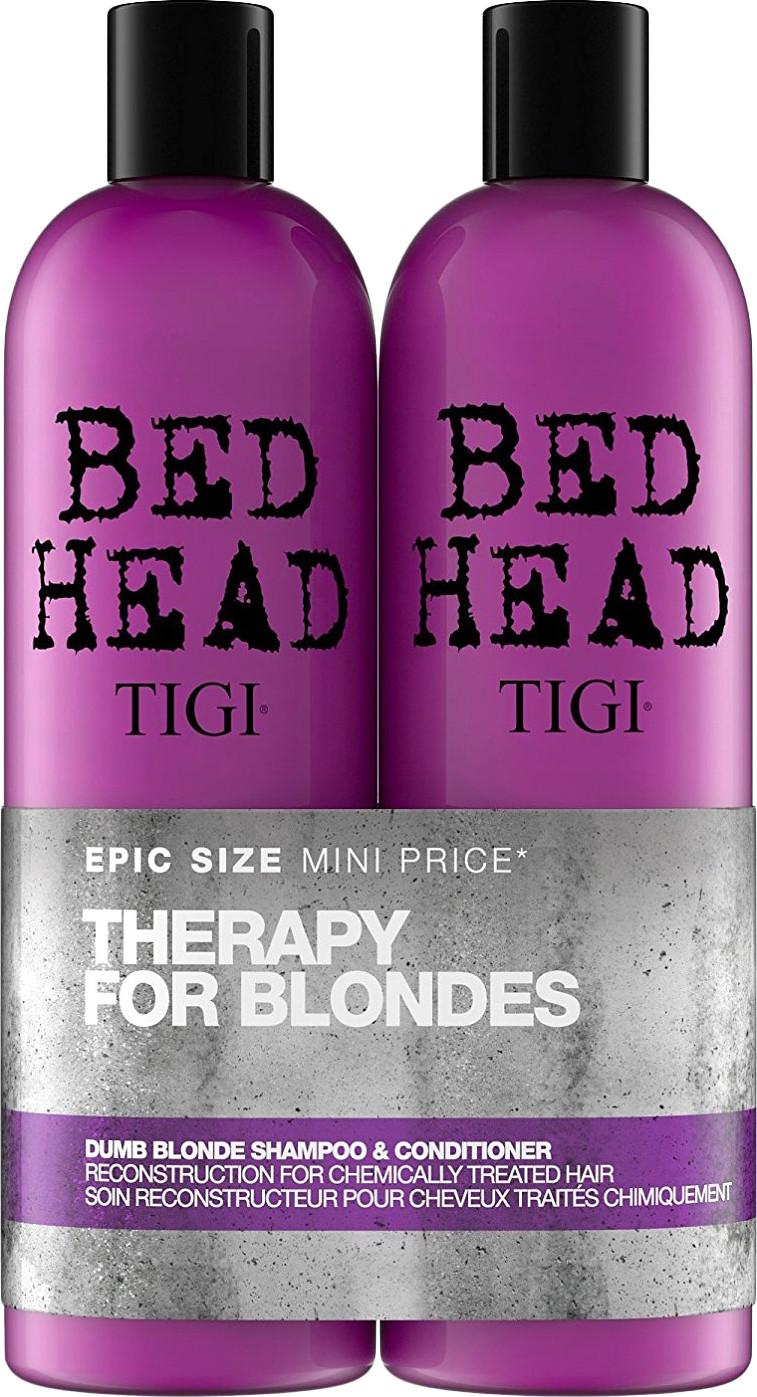 Tigi Bed Head Dumb Blonde šampoon + palsam 2x750..