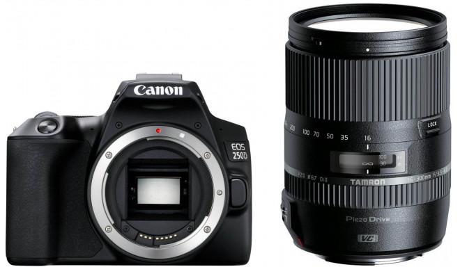 Canon EOS 250D + Tamron 16-300mm VC, black