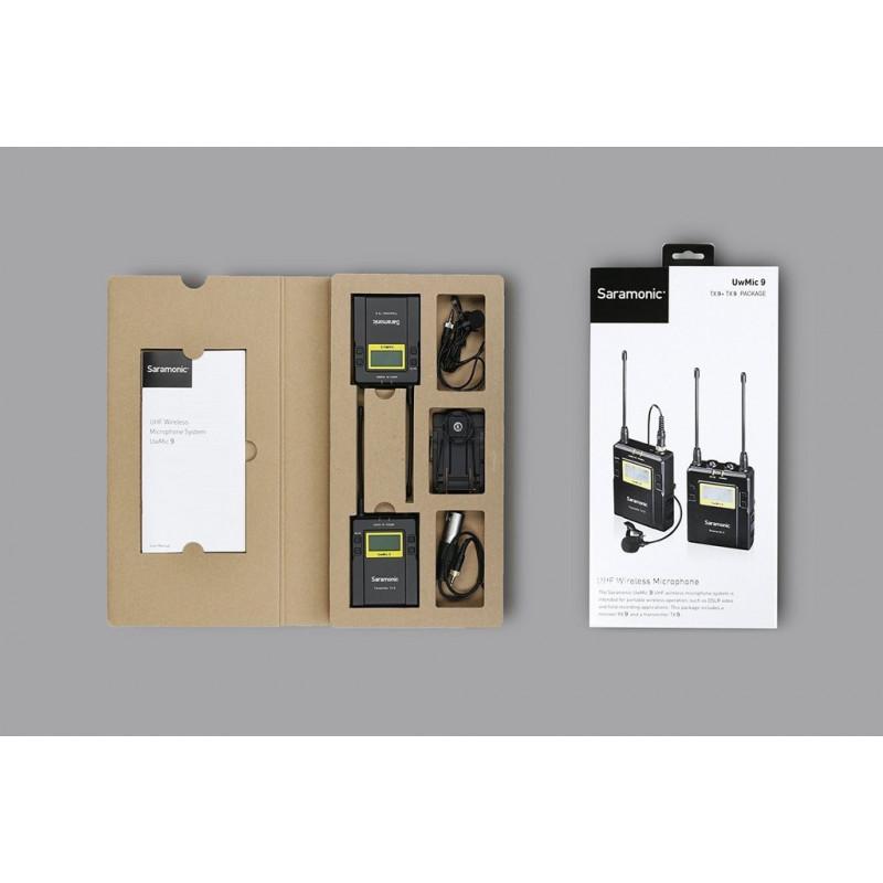 Saramonic mikrofon UwMic9 TX9 + RX9