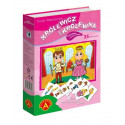ALEXANDER Magnetic puzzl e Princesses