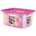 Blocks 132 pcs. in a container for girls