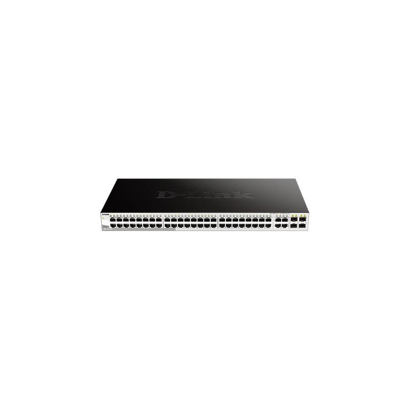 D-Link Switch DGS-1210-52 Web Management, Rac