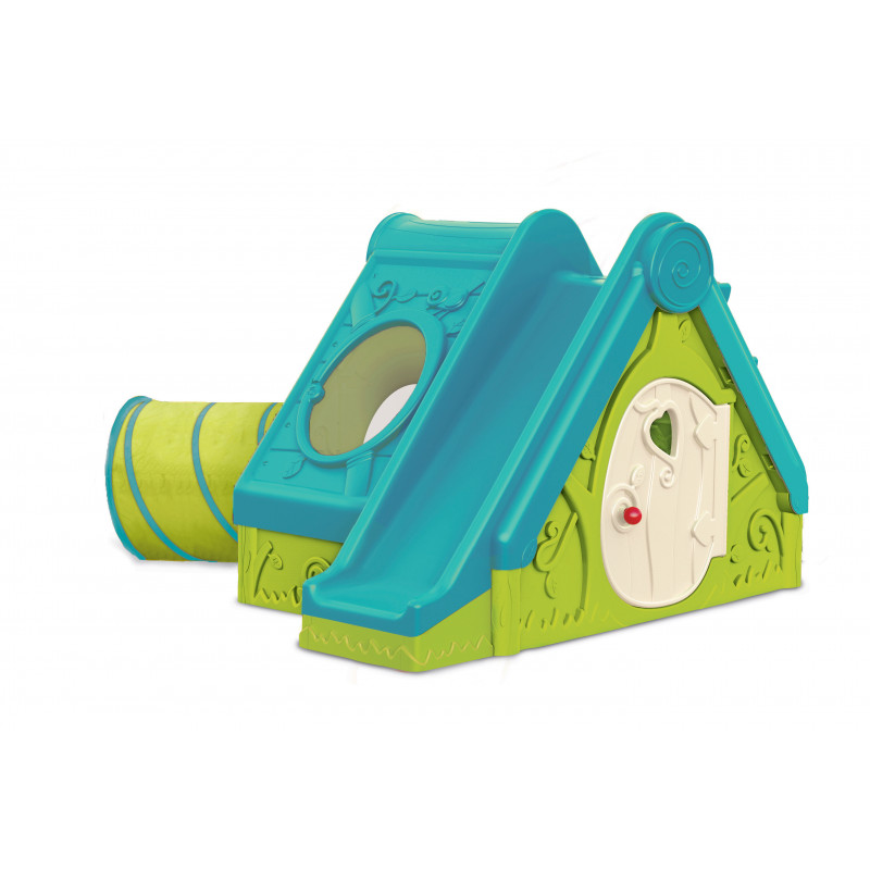 FUNTIVITY playhouse set, light green + light blue
