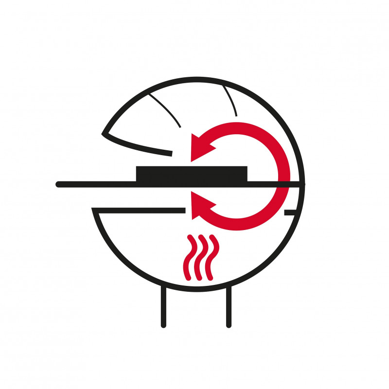 DOME Ø 50 , TM Barbecook