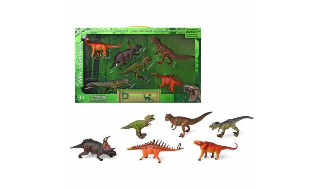 6 dinosuruse komplekt (57 x 32 cm)