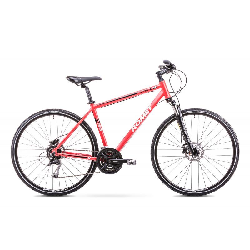 Hübriidjalgratas meestele 21 L ORKAN 4 M punane