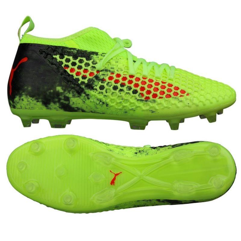 3601ad894 Men's football shoes Puma Future 18.2 Netfit FG AG Fizzy M 104321 01 ...