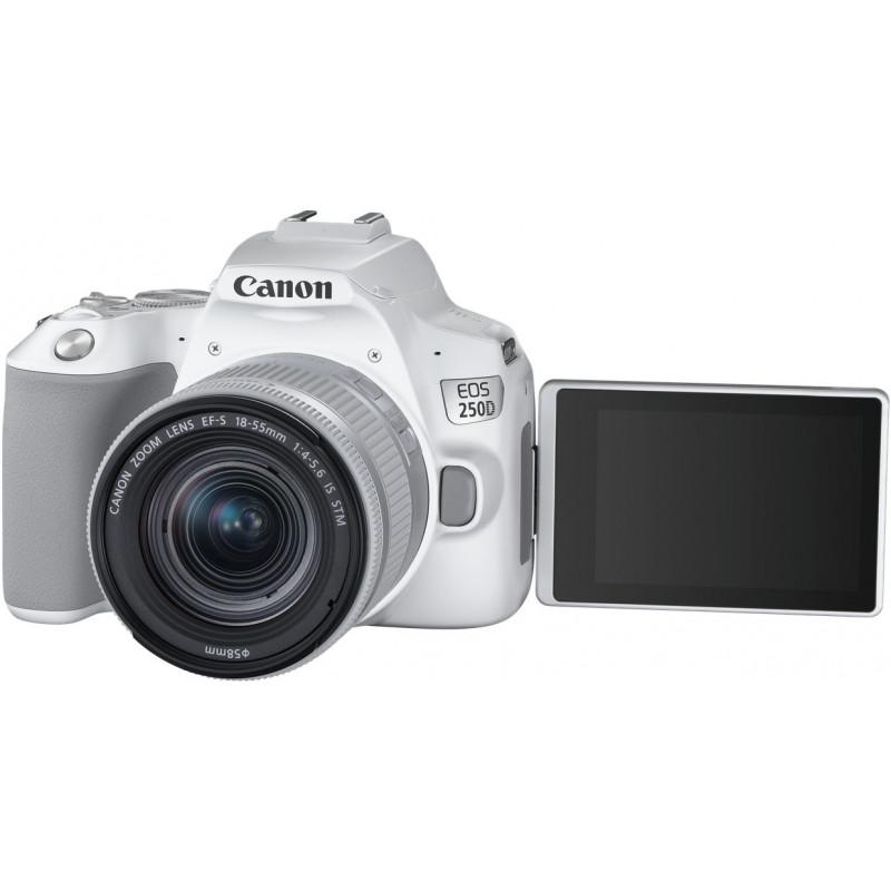 898ec3bc3b8 Canon EOS 250D Youtuber Kit, white - DSLRs - Photopoint