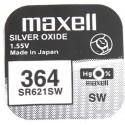 Maxell battery SR621SW/364 1,55V