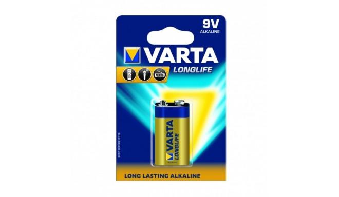 Alkaline Batteries 6LR61/9V Longlife - 10 pcs