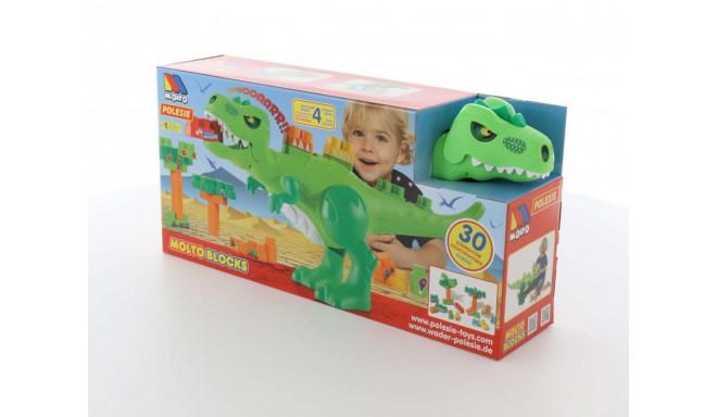 Blocks Set Dinosaur with blocks 30 elements