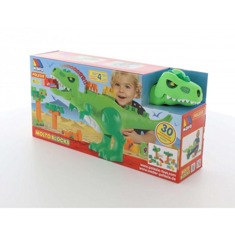 Blocks Set Dinosaur with blocks 30 pcs
