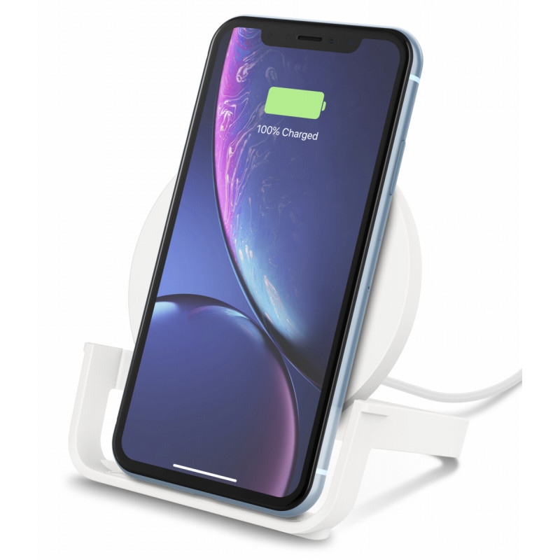 Belkin BOOST UP Wireless Charg. Stand 10W white      F7U083vfWHT