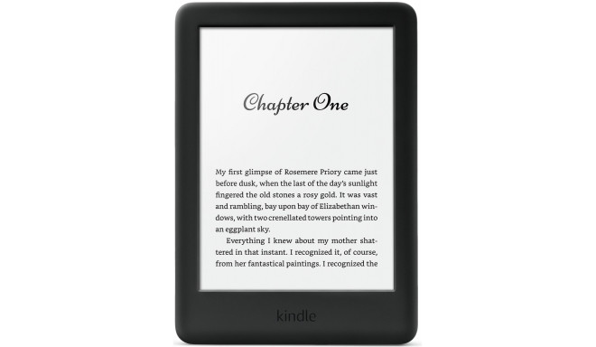 Amazon Kindle Touchscreen WiFi 2019, melns